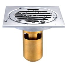 Phễu thoát sàn chống mùi hôi Zento ZT508 10cmx10cm