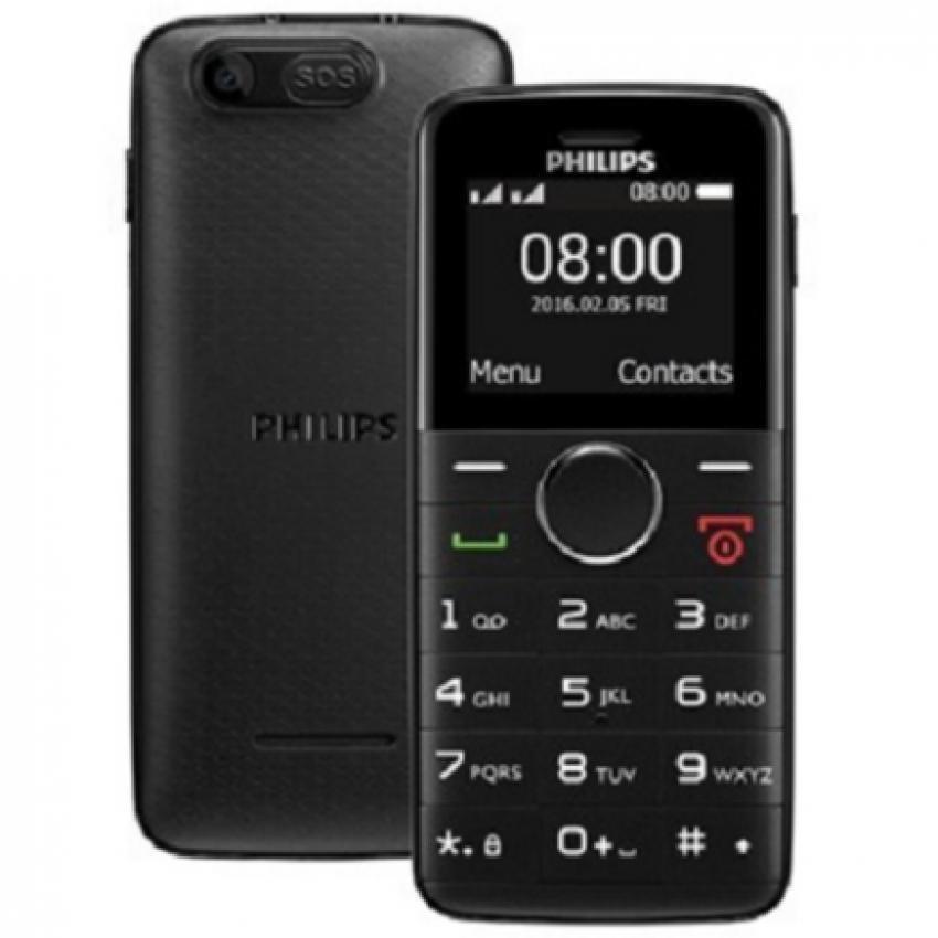 Philips E220 2Sim (Đen)