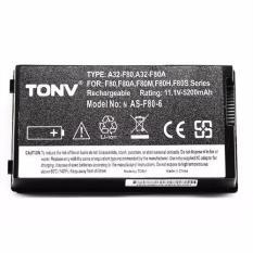 Pin Tonv Asus F80 X82 X80 F50 A8 5200mAh