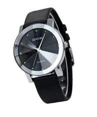 Đồng hồ nam dây da Sinobi 3D SI015 DH26 (Đen)