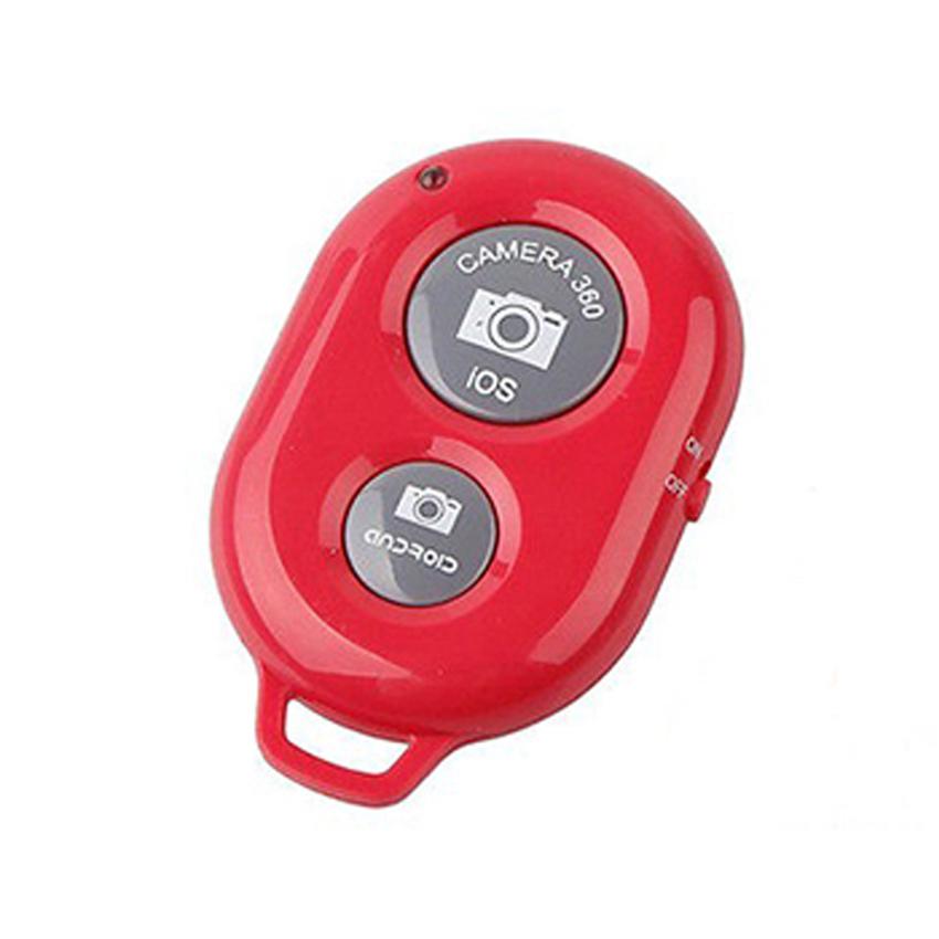 Remote chụp ảnh cho điện thoại Bluetooth Shutter (Đỏ)