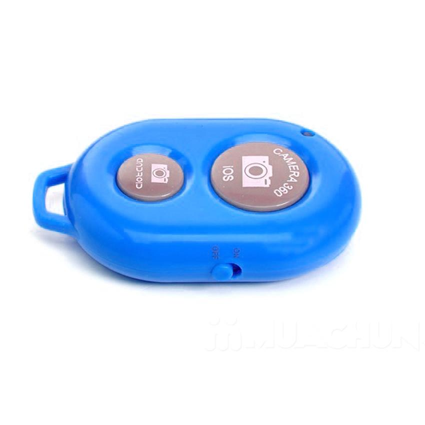 Remote chụp ảnh cho điện thoại Bluetooth Shutter (Xanh Dương)