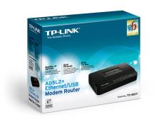Modem Tp link 8817 USB/Ethernet ADSL2 (Đen)