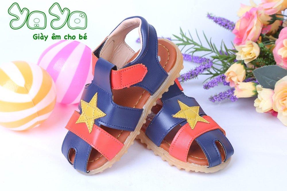 Sandal êm YaYa cao cấp hoạ tiết ngôi sao