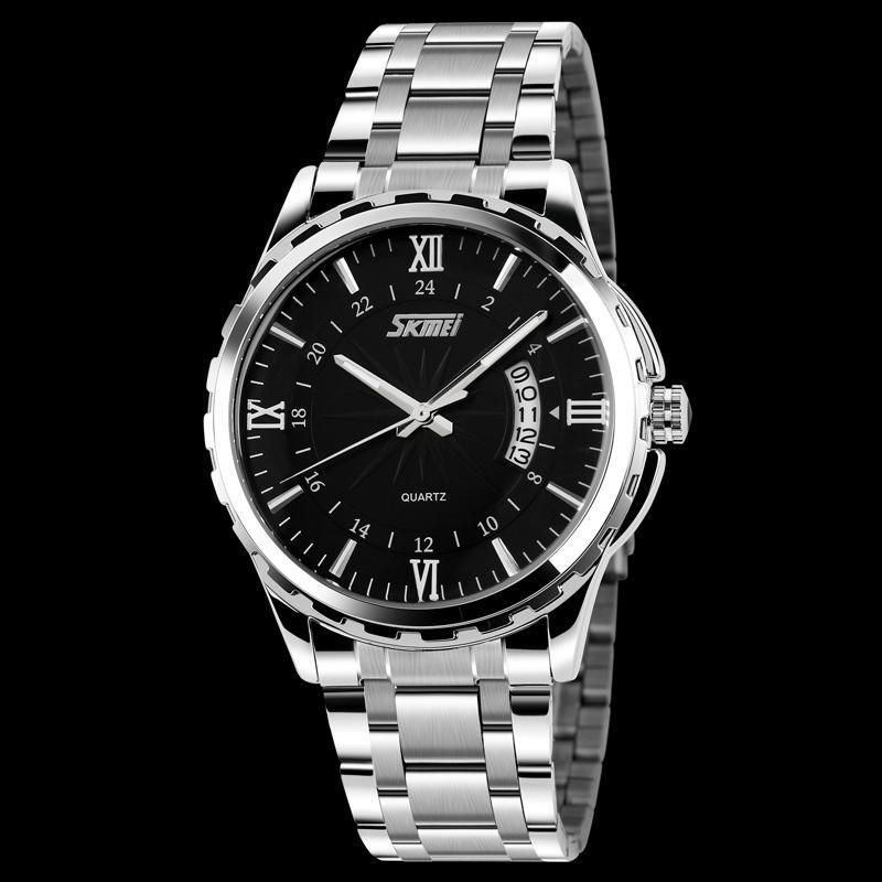 Cửa hàng bán Đồng hồ nam thời trang chống nước Skmei ( Đen ) 01
