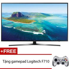 So Sánh Giá Smart Tivi LED Samsung 43inch 4K – Model UA43KU6400KXXV (Đen) + Tặng gamepad Logitech F710