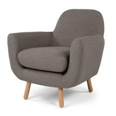 Sofa đơn Klosso KSD004-XA (Xám)