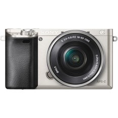 Sony A6000 (ILCE-6000L) 24.3MP với Lens kit 16-50mm (Bạc)