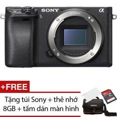 Sony Alpha A6300 24MP Body (Đen) + Tặng 1 túi Sony , 1 thẻ nhớ 16GB , 1 tấm dán màn hình