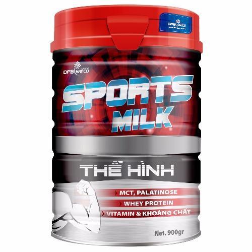 Giá KM Sữa Bột Sports Milk Thể Hình