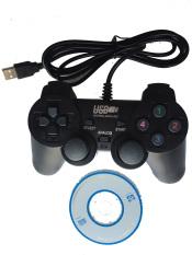 Tay cầm chơi game EW-2008 (Đen)