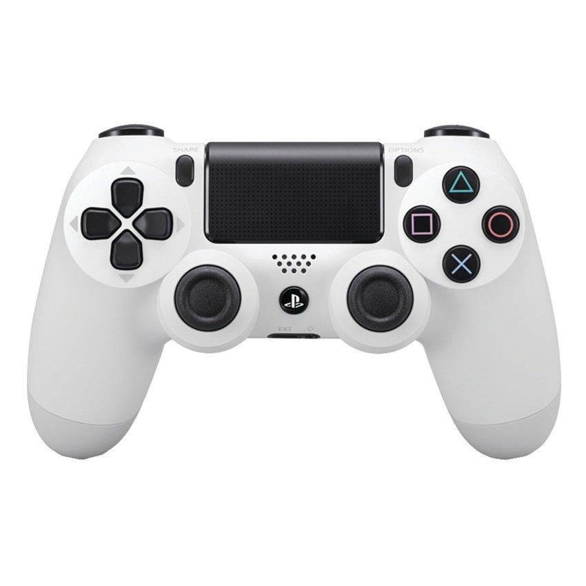 Tay cầm chơi game Playstation 4 Sony Dual Shock 4 (Trắng)