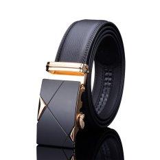 Thắt lưng da nam cao cấp TG001 (Vàng)