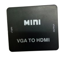 Thiết bị chuyển VGA TO HDMI Full HD (Đen)