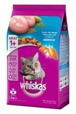 Thức Ăn Cho Mèo Lớn Whiskas Vị Cá Biển Túi 1,2kg Ocean Fish Flavor