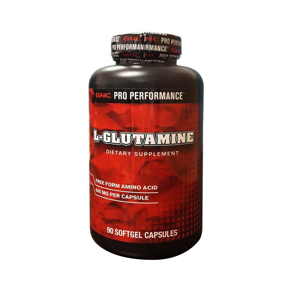 Thực phẩm chức năng thể thao GNC L – Glutamine chai 90 viên
