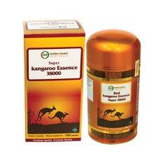 Giá Khuyến Mại Tinh chất Kangaroo Golden Health Red Kangaroo Essence Super 38000mg hỗ trợ sinh lý nam 100 viên