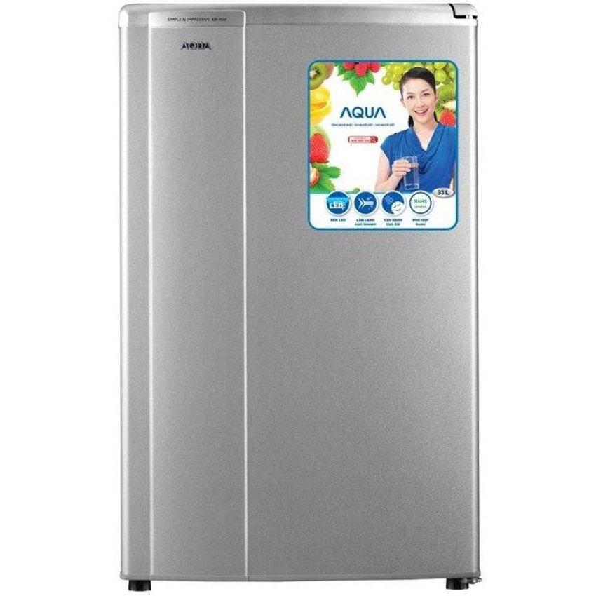 Chi tiết sản phẩm Tủ lạnh 1 cửa Aqua AQR – 95AR(SS) 90L (Xám)