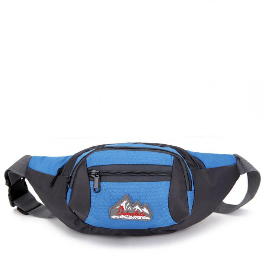 Túi đeo bụng, đeo hông du lịch Beierfute H04 (Xanh biển).