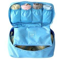 Túi đồ lót du lịch Kim Phát (Xanh nhạt)