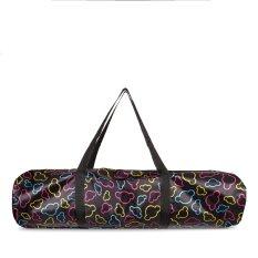 Túi đựng cho thảm yoga từ 8mm (Hoa văn đen)