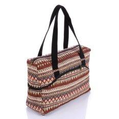 Túi xách du lịch thổ cẩm cao cấp Hoian Gifts HA-1A
