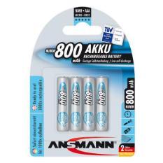 Vỉ 4 Pin Sạc Ansmann AAA 800 maxE