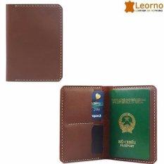 Ví da passport handmade VD39