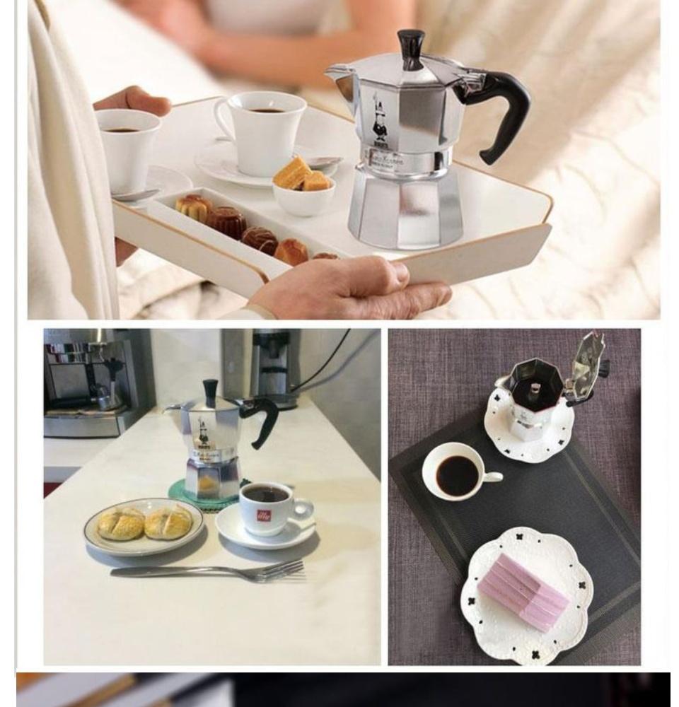 Bình pha cafe, Ấm pha cà phê (cafe) siêu tốc công nghệ Nhật Bản-Bình pha cà phê Moka Pot 6 tách 300ml bằng Nhôm cao cấp, ấm pha cà phê (cafe) thông minh. Hàng Chính Hãng. Bảo Hành Tại Shop. PĐQ