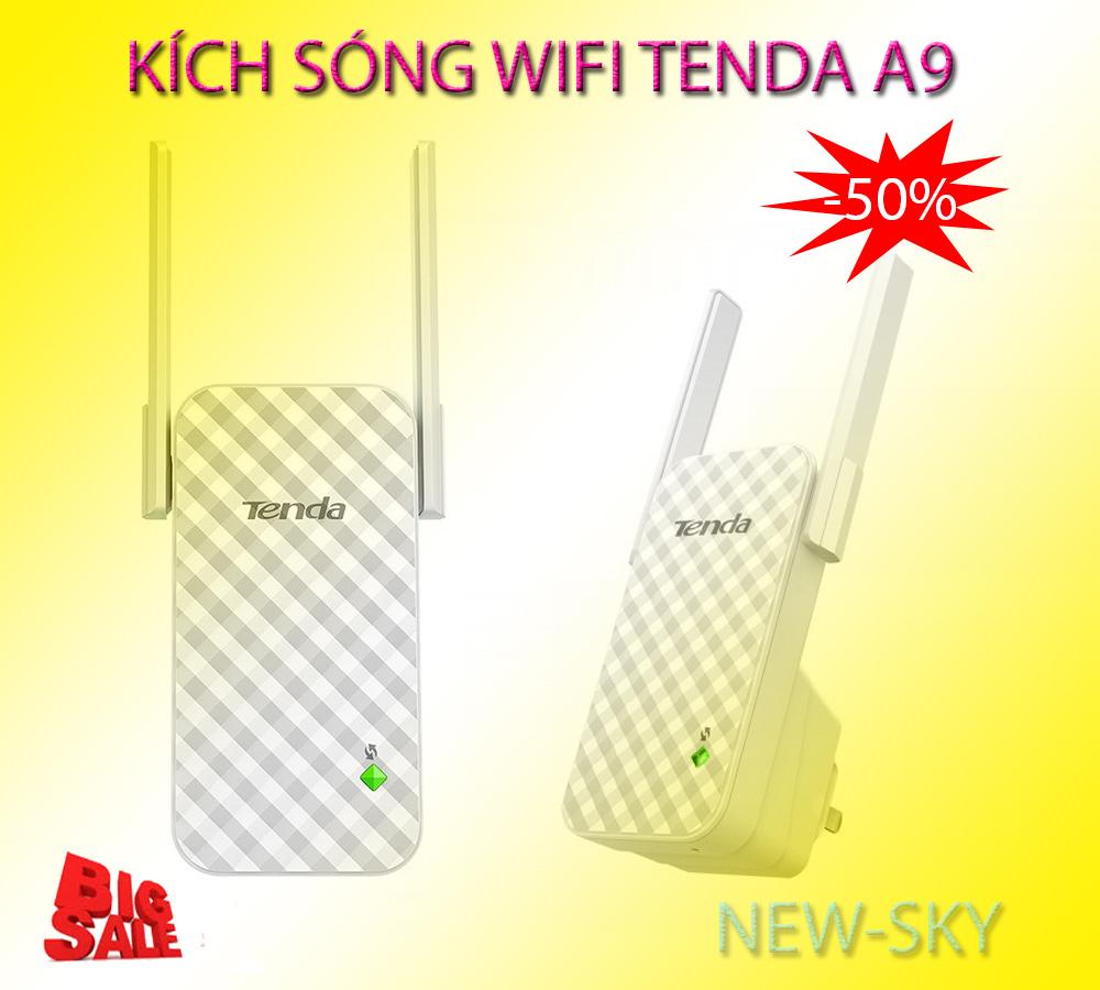 Cục tăng sóng wifi – MUA NGAY BỘ KÍCH SÓNG WIFI TENDA A9, Mở Rộng Sóng Wifi cực mạnh, Mẫu mới A9-175, Ưu đãi giảm giá 50% Ngay Hôm Nay, Bảo hành Uy tín 1 đổi 1 bởi New-Sky